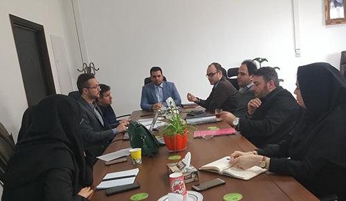 برگزاری ششمین جلسه کارگروه راهبری خدمات الکترونیک شهرسازی رشت