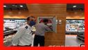 بازدید ایمنی آتش نشانان از فروشگاه بزرگ احمدی در رشت / آتش نشانی رشت