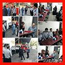 حضور ریاست و تنی چند از اعضای محترم شورای اسلامی در ایستگاه آتشنشانی رشت