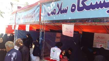 سازمان فرهنگی ،اجتماعی و ورزشی شهرداری رشت :برگزاری ایستگاه مشاوره سلامت و ویزیت رایگان شهروندان