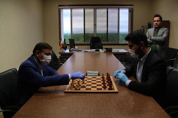 برگزاری  مسابقات شطرنج آنلاین باحضور413شرکت کننده