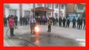 آمـوزش ایمنـی و آتش نشانی برای دانش آمـوزان دبیرستان دکتر معین /آتش نشانی رشت