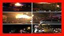 آتش سوزی شدید پشت بام منزل مسکونی در رشت/ آتش نشانی رشت