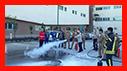 آموزش ایمنی و آتش نشانی به کارکنان بیمارستان پارس /آتش نشانی رشت