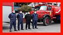 حضور آتش نشانان در رژه موتوری لشکر 16 قدس گیلان /آتش نشانی رشت