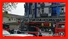 عملیات 25 آتش نشان در پی آتش سوزی کلینیک در رشت