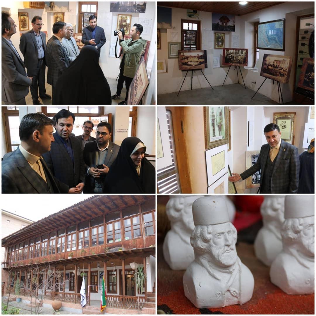 نمایشگاه عکس و اسناد تاریخی شهر رشت افتتاح شد