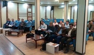 برگزاری دوره آموزشی «گزارش نویسی حرق از ساحل و فراساحل» به همت اداره آموزش مدیریت نوسازی و تحول اداری
