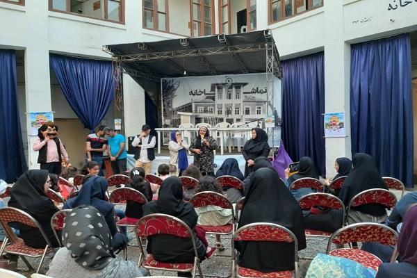سازمان فرهنگی اجتماعی و ورزشی شهرداری رشت: جشن کودکان سرزمین باران های نقره ای برگزارشد