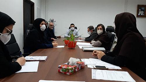 برگزاری جلسه کارگروه بافت تاریخی شهر رشت در معاونت شهر سازی و معماری شهرداری رشت