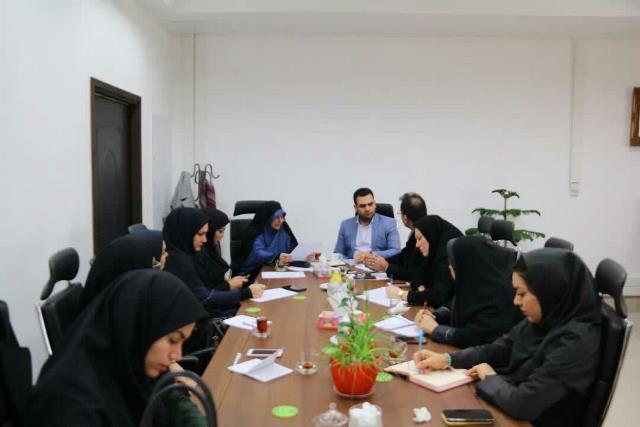 برگزاری جلسه کارگروه شهر رشت،شهر دوستدار کودک در شهرداری رشت