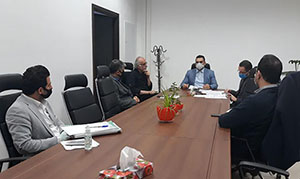 چهل و ششمین جلسه کارگروه شهر سازی در معاونت شهر سازی و معماری شهر داری رشت برگزار گردید.