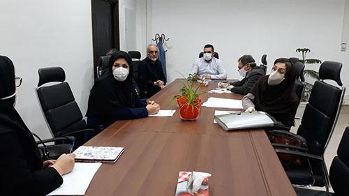 برگزاری جلسه کارگروه بافت تاریخی شهر رشت در معاونت  شهرسازی و معماری شهرداری رشت