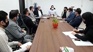 برگزاری جلسه تشکیل کارگروه ارزیابی املاک در مناطق پنجگانه در معاونت شهر سازی و معماری شهرداری رشت